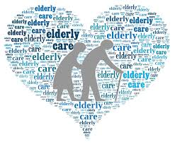 text-heart-elderly-care